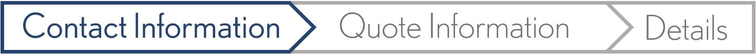 Request A Quote Form: Contact Information